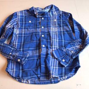 Gap Kids Long Sleeved Button Down Dress Shirt